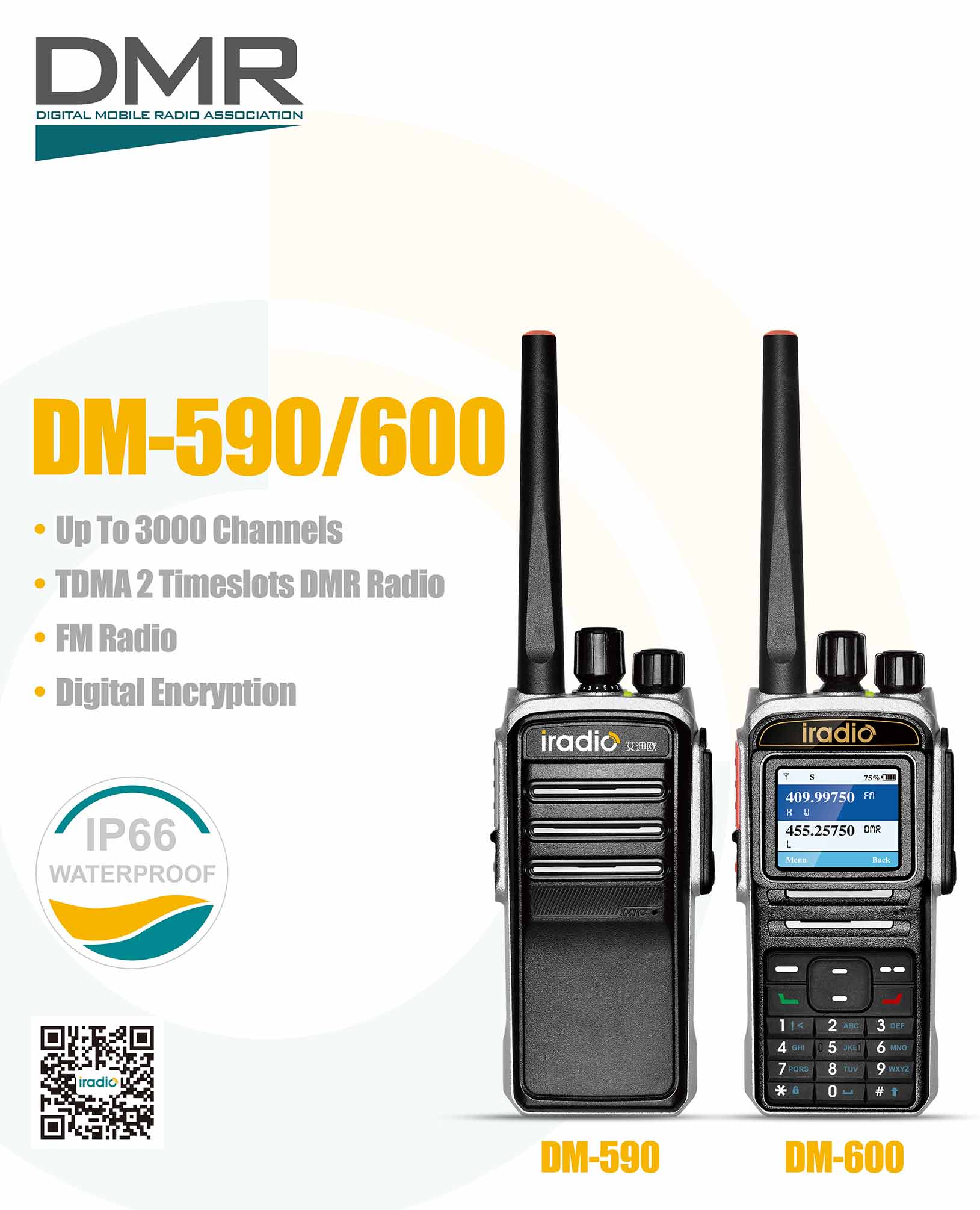 military rugged vhf uhf digital radio